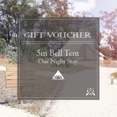 Glamping Voucher 5m Bell Tent