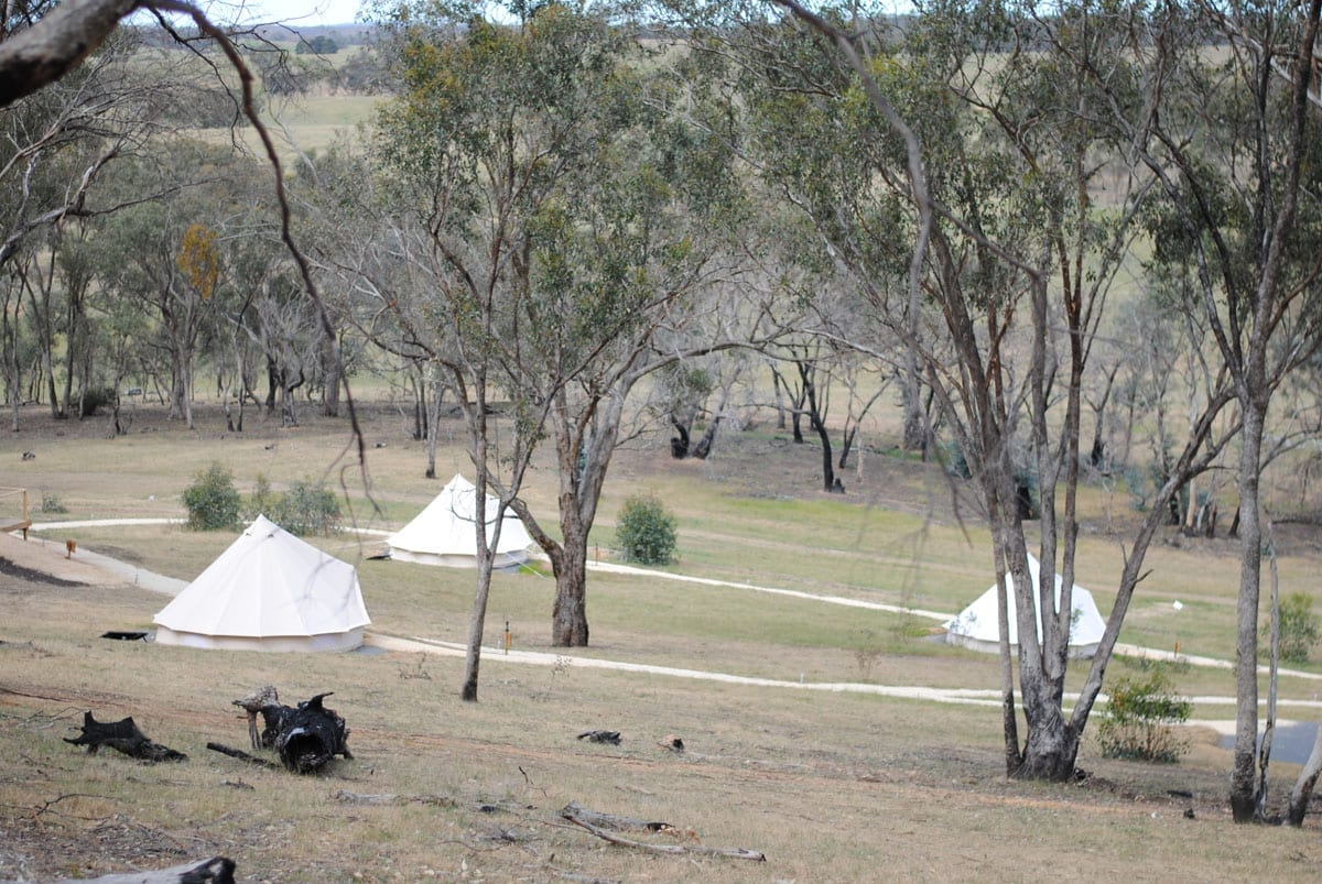 Cosy Tents Cu0026site & Cosy Tents Blackwood u0026 Photo Of Cosy Tents - Daylesford Victoria ...