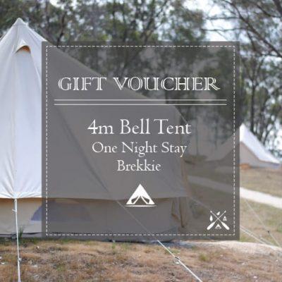 Glamping Voucher 4m Bell Tent