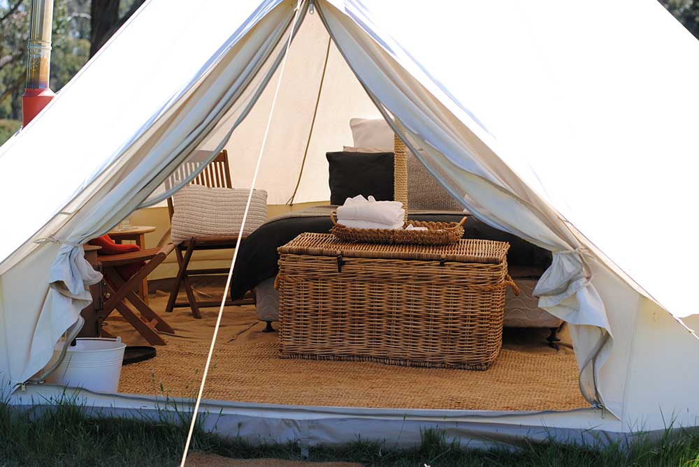 Cosy Tents Gl&ing Daylesford - Inside our Bell Tents  sc 1 st  Cosy Tents & Inside our Bell Tents - Cosy Tents