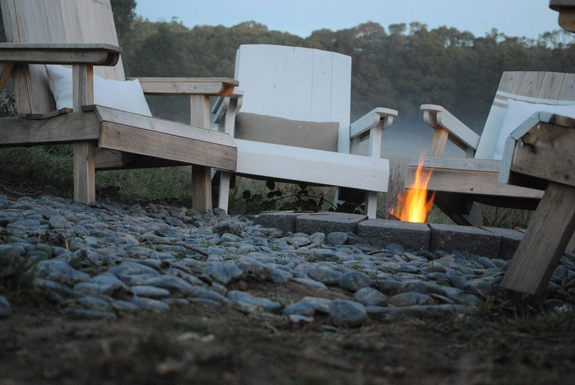 Cosy Tents Daylesford & Fire Pit - Cosy Tents