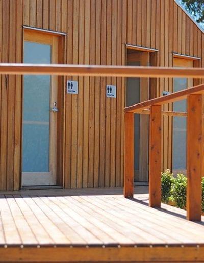 Cosy Tents Bathroom Facilities