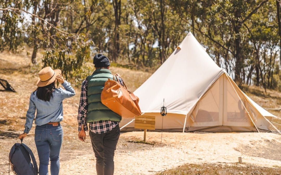 Cosy Tents Glamping – Campsite 5