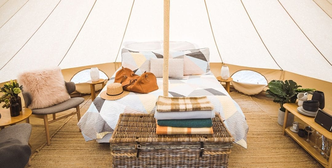 Cosy Tents Glamping – Campsite 6
