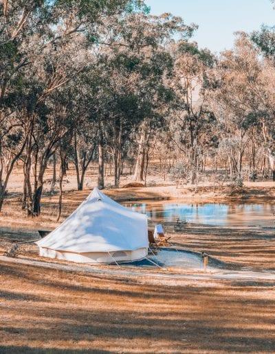 Glamping at Cosy Tents